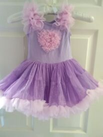 baby girl party dress age 2 years great condition