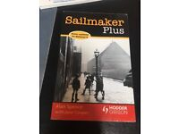Sailmaker by Alan Spence with Jane Cooper HODDER & GIBSON NOTES AND BOOK COMBO FOR NATIONAL 5