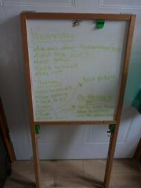 BLACKBOARD / WHITEBOARD EASEL - for little one playing 'school'? NOW REDUCED ! REDUCED AGAIN!
