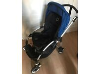 Bugaboo bee with extras (cocoon, footmuff and umbrella)
