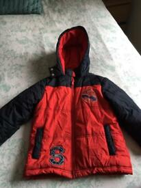 Spider-Man coat age 6-7