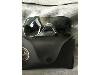 Ray.bans wrap visor
