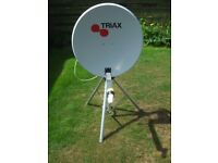 freeview portable satellite dish and decoder