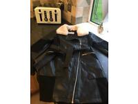 Girls river island coat