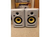 2 x KRK Rokit 5 GP3 Monitor Speakers Powered
