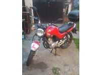 yamaha ybr 125cc swap only looking for 125cc cruiser