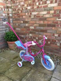 Sunbeam by Raleigh Fairycake 12 inch Pink & Blue Girl's Bicycle