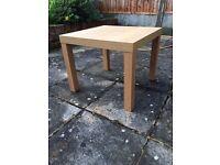 Ikea Side Table in Oak Finish