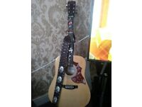 Falcon acoustic guitar very nice guitar