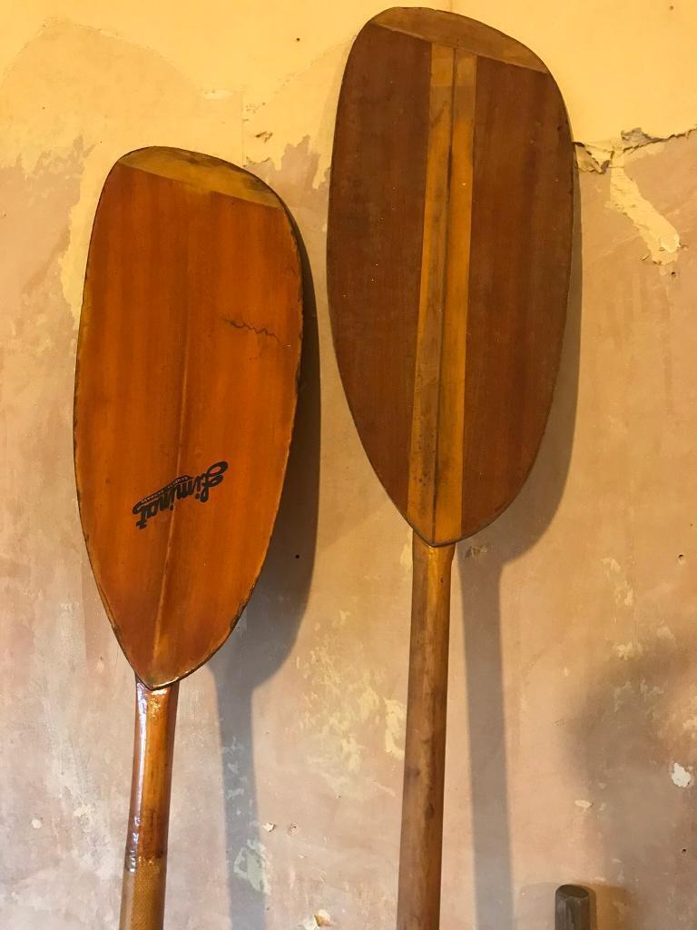 Vintage Canoeing Oars In Leyton London Gumtree