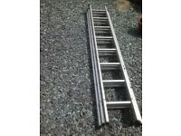 For sale aluminium triple extension ladder