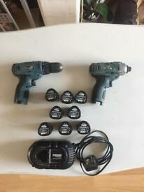 Erbauer impact driver and drill