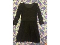 Goth Lacey dress
