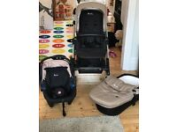 Silver Cross Pioneer Pram and travel system