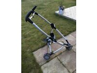 Quinny Zapp Pram frame with Maxi Cosi adapters
