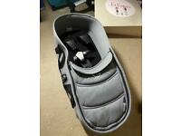 Bugaboo carrycot grey color