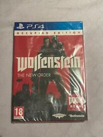 Wolfenstein The New Order - Occupied Edition (PS4) BRAND NEW SEALED