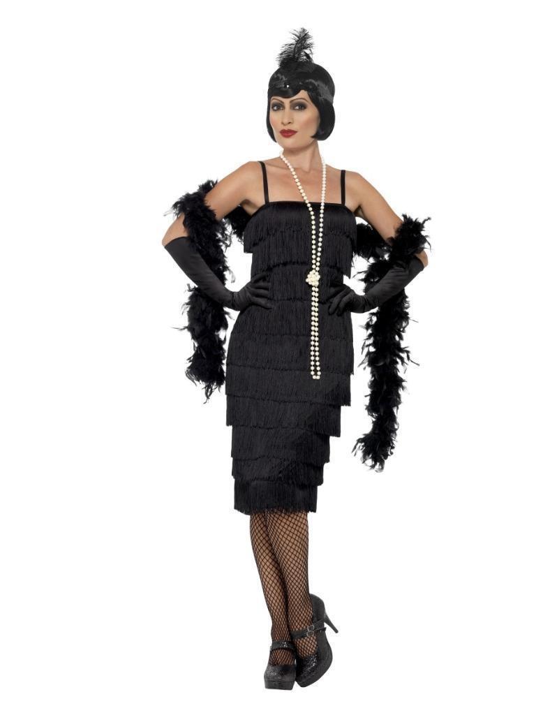 FLAPPER 1920/'S FANCY DRESS LONG GLOVES HEADBAND GATSBY BURLESQUE CIG HOLDER UK
