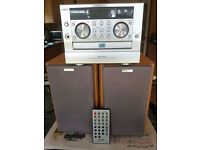 Sanyo compact Micro MCR30 CD/Radio unit. Powerful 50w per channel speakers. Excellent condition