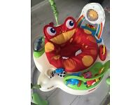Jumperoo tropical baby bouncer