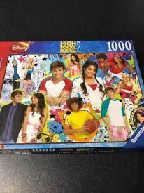 Jigsaw Puzzle High School Musical 2 1000 pieces Ravensburger