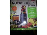 Brand New Nutribullet 600 Series Brand New
