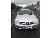 Mercedes SLK- immaculate condition and low mileage