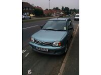 Nissan Micra 1.0 petrol manual