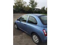 Nissan Micra, 2007, two doors, £1750 ONO
