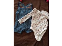 Baby girl's 6-9months clothes