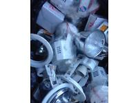 Ceiling lights holders loads for sale