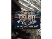 Britains got talent electronic board game
