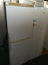 Candy white good looking frost free A-class fridge freezer cheap