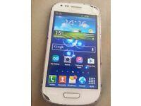 Samsung Galaxy S3 SIII Mini GT-I8190N 8GB White ( Unlocked)