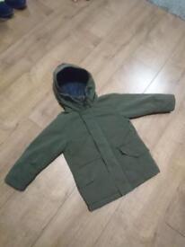 Next boys coat size 4-5