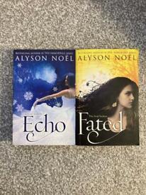 Alyson Noel Books Echo/Fated/The Immortals