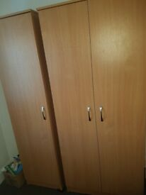 double and single wardrobe