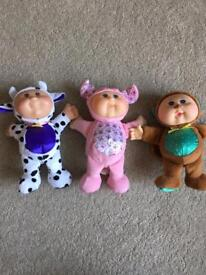 Mini Cabbage Patch Dolls