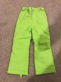 Unisex Salopettes Lime Green