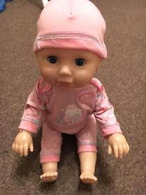 Lear To Walk Baby Annabell Doll