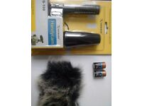G-108 Stereo Video Shotgun Mic Microphone for Nikon Canon Camera DV Camcorder