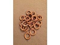 Curtain rings x24