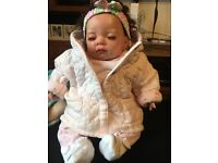 Baby doll basket bedding clothing