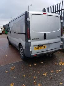 renault traffic van ***low milage***