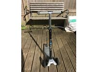 Maxi Micro Silver Scooter (very good condition, but missing brake)