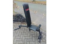 YORK FITNESS DB4 DUMBBELL WEIGHTS BENCH