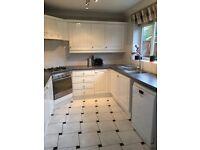 White Kitchen and worktops