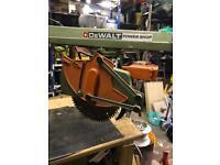Dewalt power shop radial arm saw dw1751
