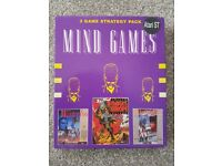 Atari ST Mind games compilation,Waterloo,Austerlitz,Conflict Europe boxed Rare