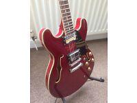 Aria TA 50 Semi Acoustic Guitar